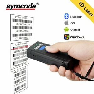 Bluetooth Barcode Scanner 1d Laser Portable Usb 2 4g Wireless Reader Transfer