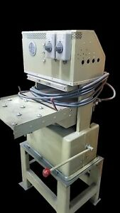 Hydraulic Post Press Phi 50 Ton Rubber Molding Electric Platen