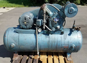 Ingersoll Rand 30 253 Reciprocating Air Compressor 208 480v 3p 5hp 20cfm 125psi