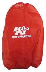 K N Drycharger Red Air Filter Wrap 7 5 Base 4 5 Top I D Part Rc 5046dr