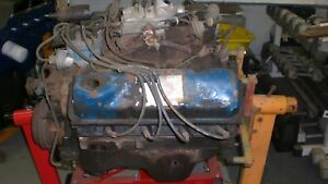 1978 Ford 351 400 Modified With 2 Barrel Complete Carb To Oil Pan Used Engine