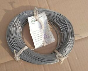 Mgtf e shield Heat resistant Wire 1 X 0 12 Mm Ptfe 26 Awg Shield Ussr