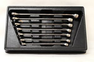 Snap on 7 Piece Metric Speed Wrench Set With 12 point Box Srxm Tool Set