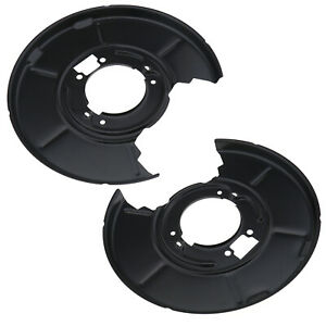 2pcs Rear Left Right Disc Brake Backing Plate Pair For Bmw E36 E46 E85 E86