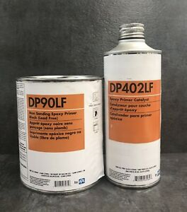Ppg Dp90lf Black Epoxy Primer Quart With Dp402lf Catalyst Pint
