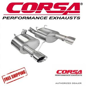 Corsa 3 0 Axle Back Performance Exhaust For 11 13 Mustang Boss 302 5 0l V8