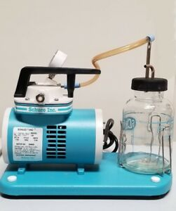 Schuco Vac Aspirator Vacuum Pump With Canister brand New free Shipping