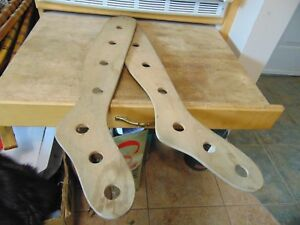 Vintage Antique Wooden Stocking Stretchers Nice 6110