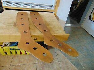 Vintage Antique Wooden Stocking Stretchers Nice 4683