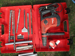 Hilti Te 50 Rotary Combihammer Chipping Hammer Drill W Hard Case Fully Tested