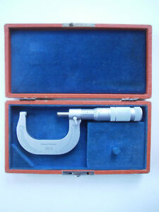 Brown And Sharpe 20 1 Micrometer Caliper