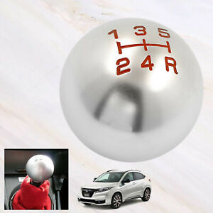Round Racing Car Manual 5 Speed Gear Stick Shift Knob Lever Shifter For Honda