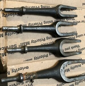Air Hammer Tie Rod Ball Joint Separator Pickle Fork Tool Snap on 4 Sizes