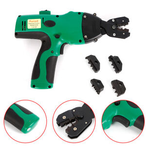 Electric Motor Auto Crimping Tool Crimper Fit For Wire Cable Terminals 0 5 6mm