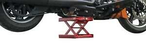 Floor Jack Motorcycle Street Bike Repair Lift Table New Wide Scissor Jack Stands