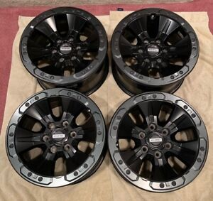 Ford F 150 Raptor Oem Beadlock Rare Wheels Rims Bead Lock 17 Full Set