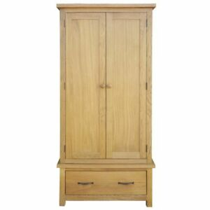 Wardrobe With 1 Drawer Oak 35 4 X20 5 X72