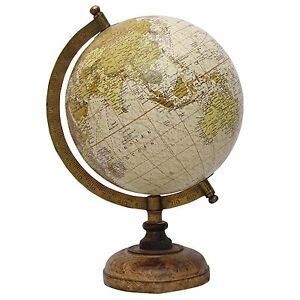 Geographical Earth Globes Rotating World Map Ocean Office Table Decor Gift Bm415