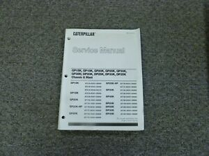Caterpillar Cat Gp20k Gp25k Forklift Chassis Mast Shop Service Repair Manual