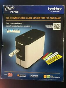 Label Printer Mac pc Scalable Font Brother Pt P700