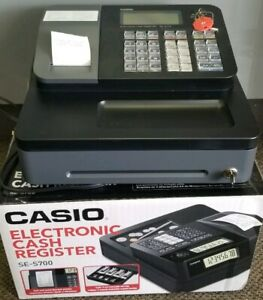 Casio Se s700 Cash Register Se S700 Thermal