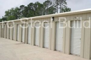 Duro Steel Mini Self Storage Structures 20x150x8 5 Metal Prefab Buildings Direct