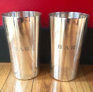 Tiffany Co Sterling Silver 5 1 4 Mint Julep Cups Pattern 22876