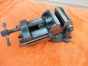 Palmgren 4 Tilt Swivel Vise For Drill Press Milling Machine