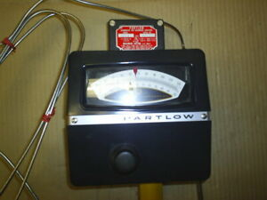 Partlow Lfv 4 Thermostat For Hazardous Locations used