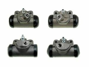 4 Brake Wheel Cylinders 1952 1956 Ford Cars New Set 52 53 54 55 56