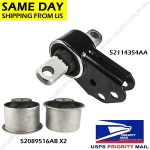 Front Differential Mount Bushing Set For Jeep Grand Cherokee Commander 2005 2010