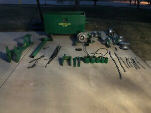 Greenlee 686 Cable Wire Puller Tugger And Greenlee Box With Extras