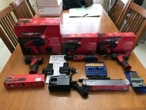 Snap On Cordless Tool Set New Never Used