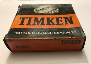 2 Timken Tapered Roller Bearing Cup 28921