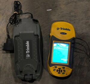Trimble Geo Xh 2008 Series Gnss Gps Data Collector W Charger Base And Adapter