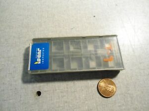 Iscar Somt060204 dt Ic908 Carbide Inserts Lot Of 4