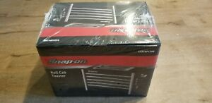 New Snap On Tools Toaster Roll Cab Black New In Sealed Box Free Ship To Lower 48