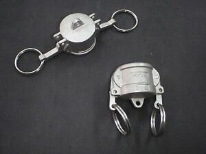 Stainless Steel Cam Lock Cap Cover 1 2 Assembly Clcv050