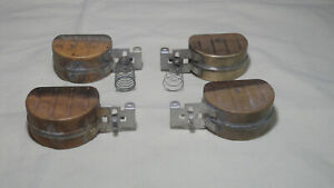 Holley Brass Side Hung Float Bowls