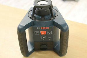 Bosch Grl250hv Self leveling Rotary Laser as Is wont Spin Free Ship