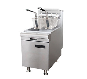 Admiral Craft Bdctf 75 lpg Fryer Gas Countertop Full Pot