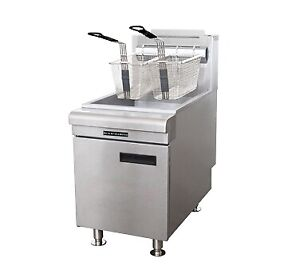 Admiral Craft Bdctf 60 lpg Fryer Gas Countertop Full Pot