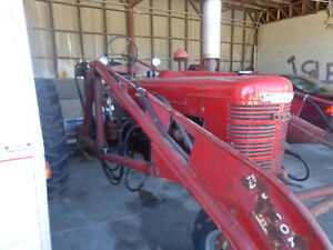 1944 International Farm All Model H Farm Tractor With Implements