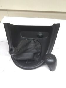01 04 Ford Mustang Cobra Leather Shift Boot Bezel