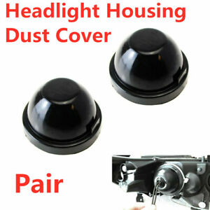 85mm Rubber Housing Seal Caps For Headlight Install Xenon Headlamp Kit Retrofit
