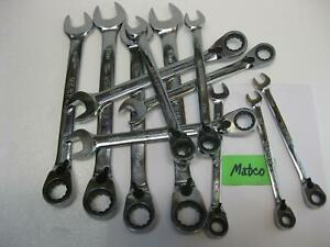 Matco Tools Metric Reversible Ratchet Wrenches Sold Each New
