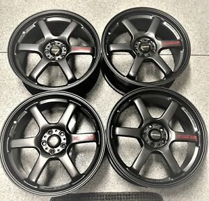 Very Rare Genuine Jdm Prodrive Gc 6d Wheels 5 X100 18 X 7 5 48 Off Set