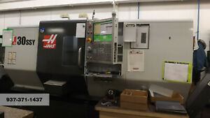 Cnc Lathe Haas 2013 St 30 4 Live Tools Bar Feed Parts Catcher Tool Setter More