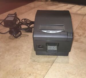 Star Micronics Tsp700ii Point Of Sale Thermal Printer With Cables