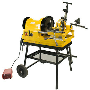 Steel Dragon Tools 6790 1 2 4 Pipe Threader Threading Machine With Cart